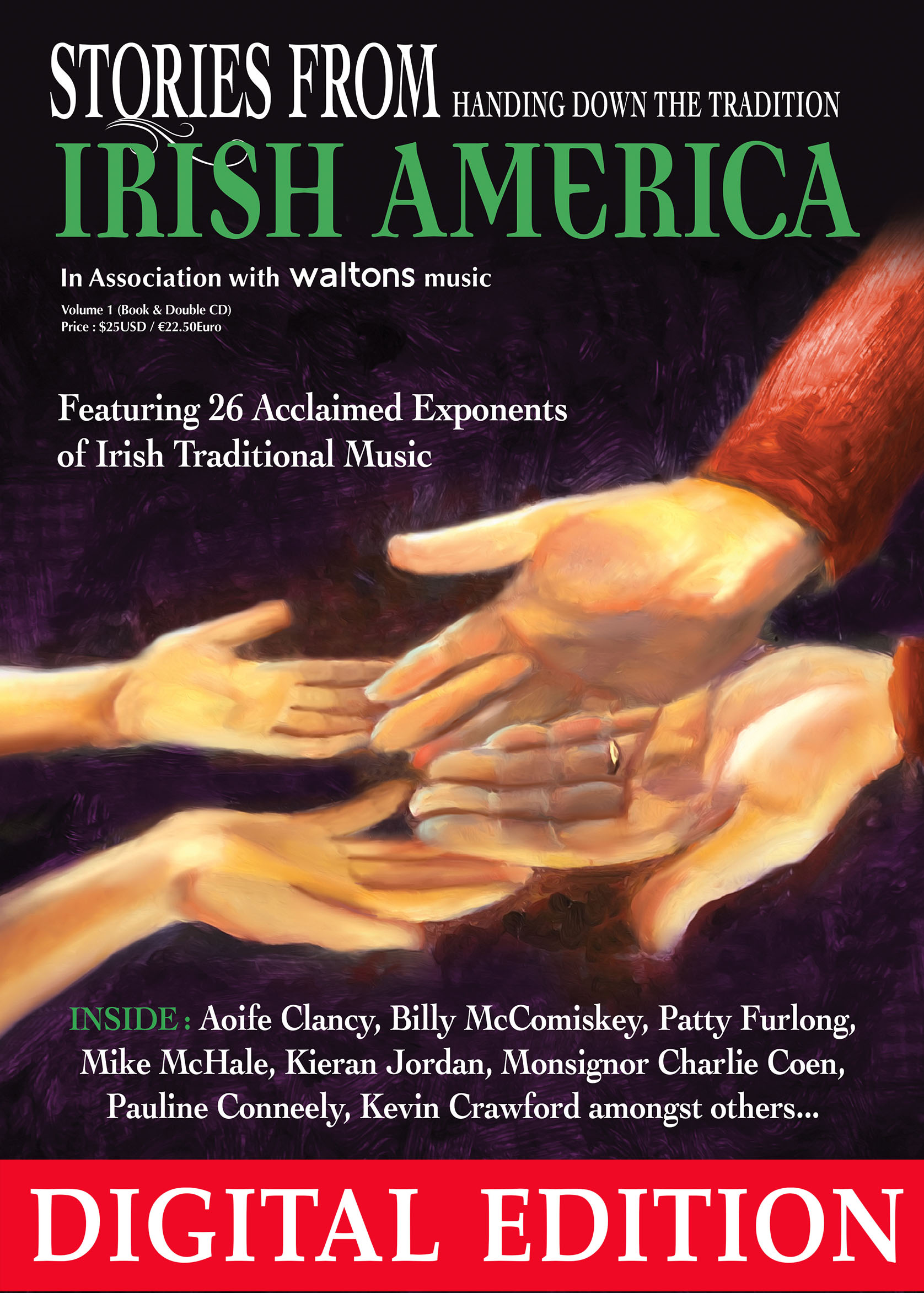 Stories from Irish America Volume 1 Book & Double CD Digital Edition