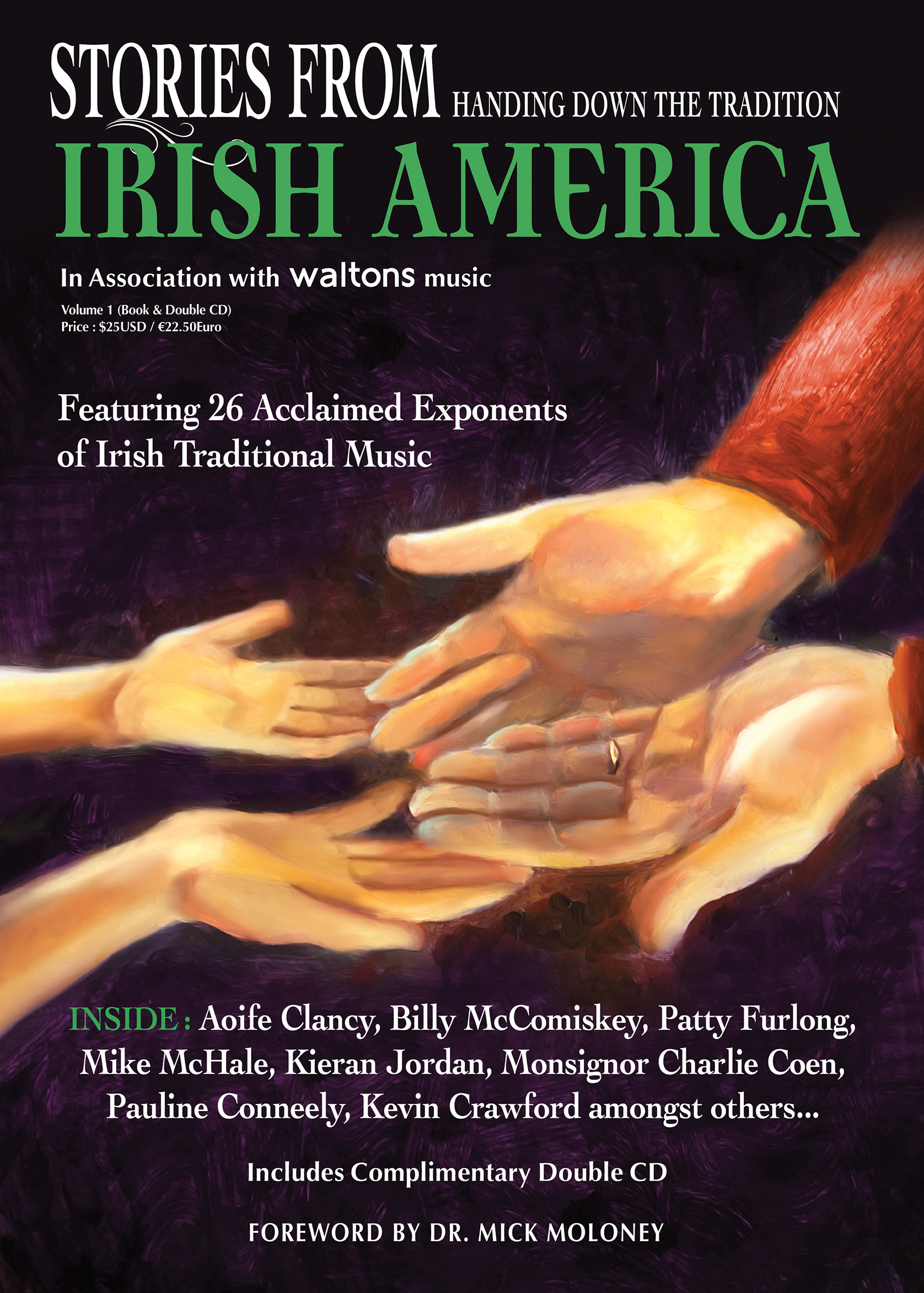 Stories from Irish America Volume 1 Book & Double CD Print Edition